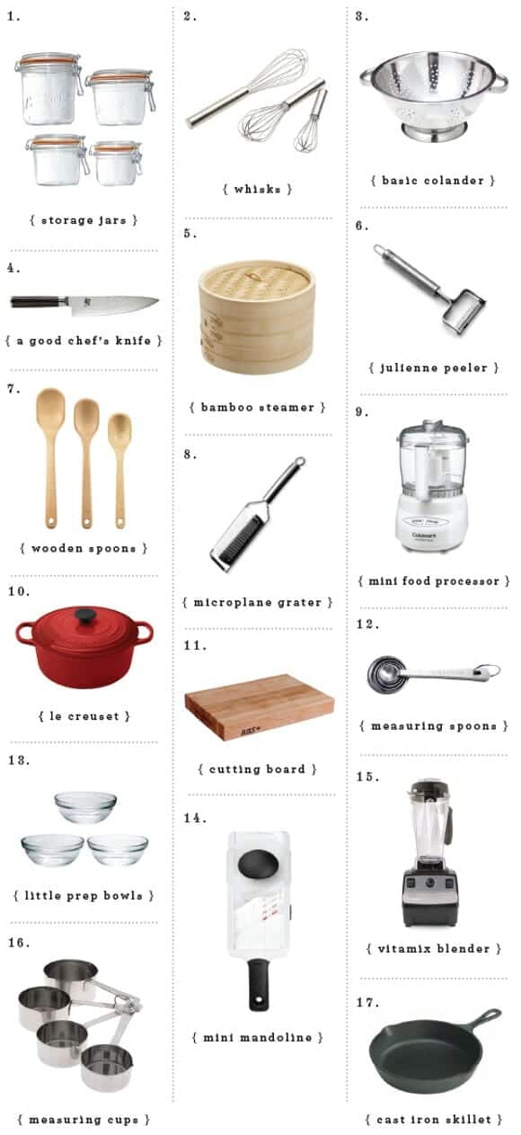 kitchen essentials gift guide / loveandlemons.com